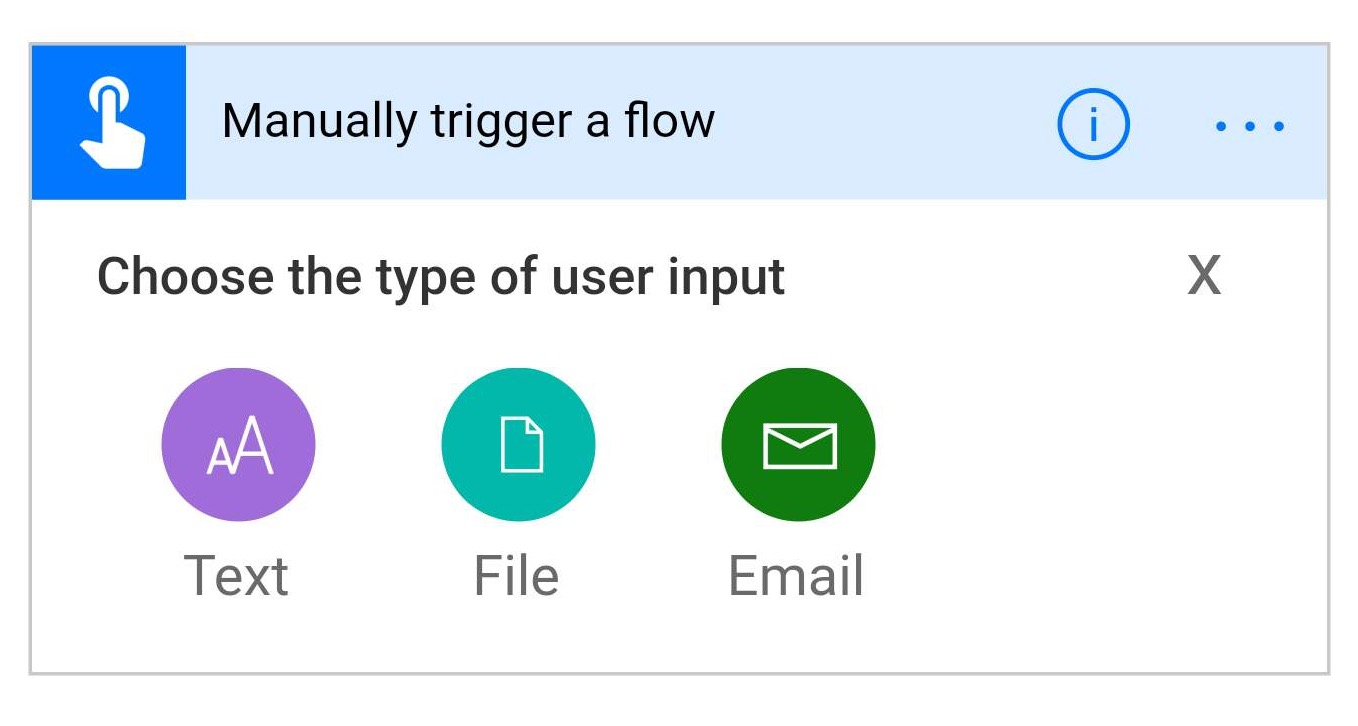 New Flow Button inputs available in Flow Mobile