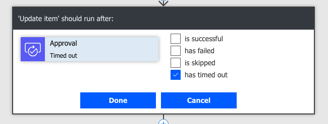 How to use a timeout for your Microsoft Flow approvals